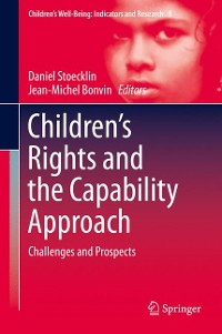 Cover Children's Rights and the Capability Approach