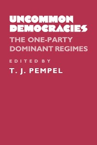 Cover Uncommon Democracies