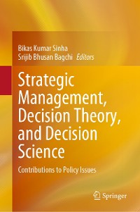 Cover Strategic Management, Decision Theory, and Decision Science