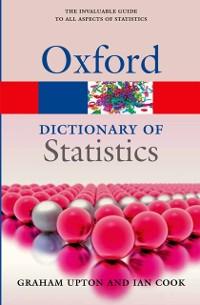 Cover Dictionary of Statistics 3e