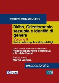Cover Diritto, orientamento sessuale e identità di genere, Vol. II (Codice Commentato)