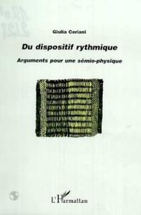 Cover DU DISPOSITIF RYTHMIQUE