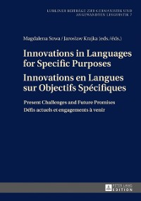 Cover Innovations in Languages for Specific Purposes - Innovations en Langues sur Objectifs Specifiques