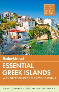 Cover Fodor's Essential Greek Islands