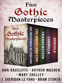 Cover Five Gothic Masterpieces
