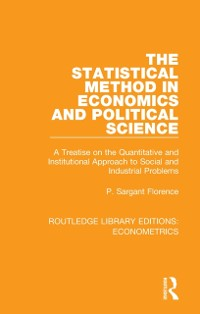 Cover Statistical Method in Economics and Political Science