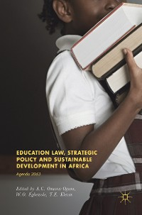 Cover Education Law, Strategic Policy and Sustainable Development in Africa