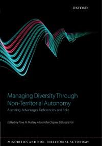 Cover Managing Diversity through Non-Territorial Autonomy