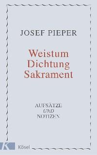 Cover Weistum, Dichtung, Sakrament