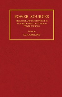 Cover Research and Development in Non-Mechanical Electrical Power Sources