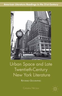 Cover Urban Space and Late Twentieth-Century New York Literature