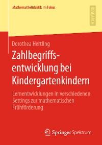 Cover Zahlbegriffsentwicklung bei Kindergartenkindern