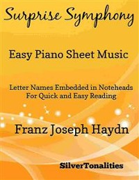 Cover Surprise Symphony Easy Piano Sheet Music
