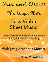 Cover Isis and Osiris the Magic Flute Easy Violin Sheet Music
