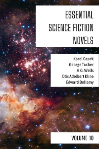Cover Essential Science Fiction Novels - Volume 10