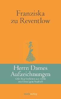 Cover Herrn Dames Aufzeichnungen