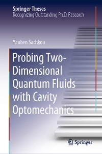 Cover Probing Two-Dimensional Quantum Fluids with Cavity Optomechanics