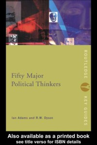 Cover Fifty Major Political Thinkers