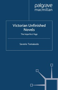 Cover Victorian Unfinished Novels