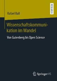 Cover Wissenschaftskommunikation im Wandel
