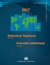 Cover Statistical Yearbook 2017, Sixtieth Issue / Annuaire statistique 2017