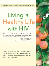 Cover Living a Healthy Life with HIV