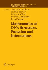 Cover Mathematics of DNA Structure, Function and Interactions