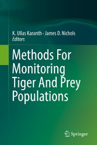 Cover Methods For Monitoring Tiger And Prey Populations