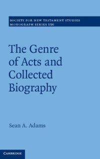 Cover Genre of Acts and Collected Biography