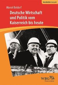 Cover Deutsche Wirtschaft und Politik