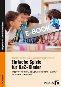 Cover Einfache Spiele für DaZ-Kinder