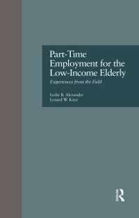 Cover Part-Time Employment for the Low-Income Elderly