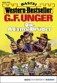 Cover G. F. Unger Western-Bestseller 2434 - Western