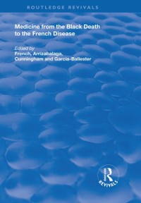Cover Medicine from the Black Death to the French Disease