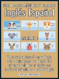 Cover 4 - Animales II - Flash Cards Imágenes y Palabras Inglés Español