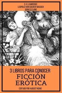Cover 3 Libros para Conocer Ficción Erótica