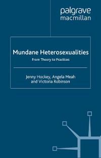 Cover Mundane Heterosexualities