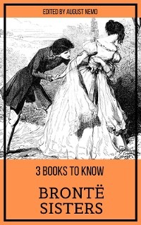 Cover 3 books to know Brontë Sisters