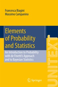 Cover Elements of Probability and Statistics