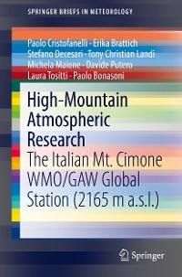 Cover High-Mountain Atmospheric Research