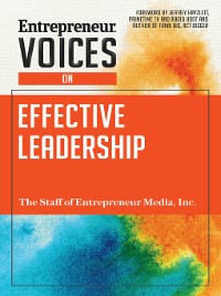 Cover Entrepreneur Voices on Effective Leadership