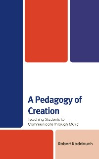 Cover A Pedagogy of Creation