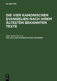 Cover Das Evangelium des Johannes
