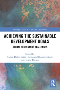 Cover Achieving the Sustainable Development Goals