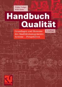 Cover Handbuch Qualität