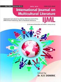 Cover International Journal on Multicultural Literature (IJML)