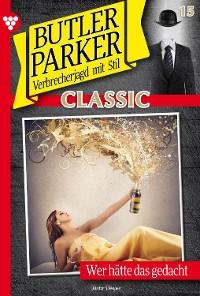 Cover Butler Parker Classic 15 – Kriminalroman