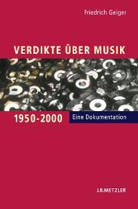 Cover Verdikte über Musik 1950–2000