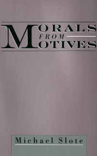 Cover Morals from Motives