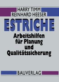 Cover Estriche